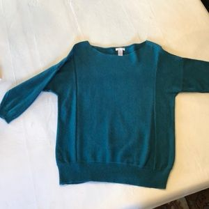 Chico's teal green sweater